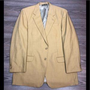 Jack Victor Solid Gold Blazer 44L Long